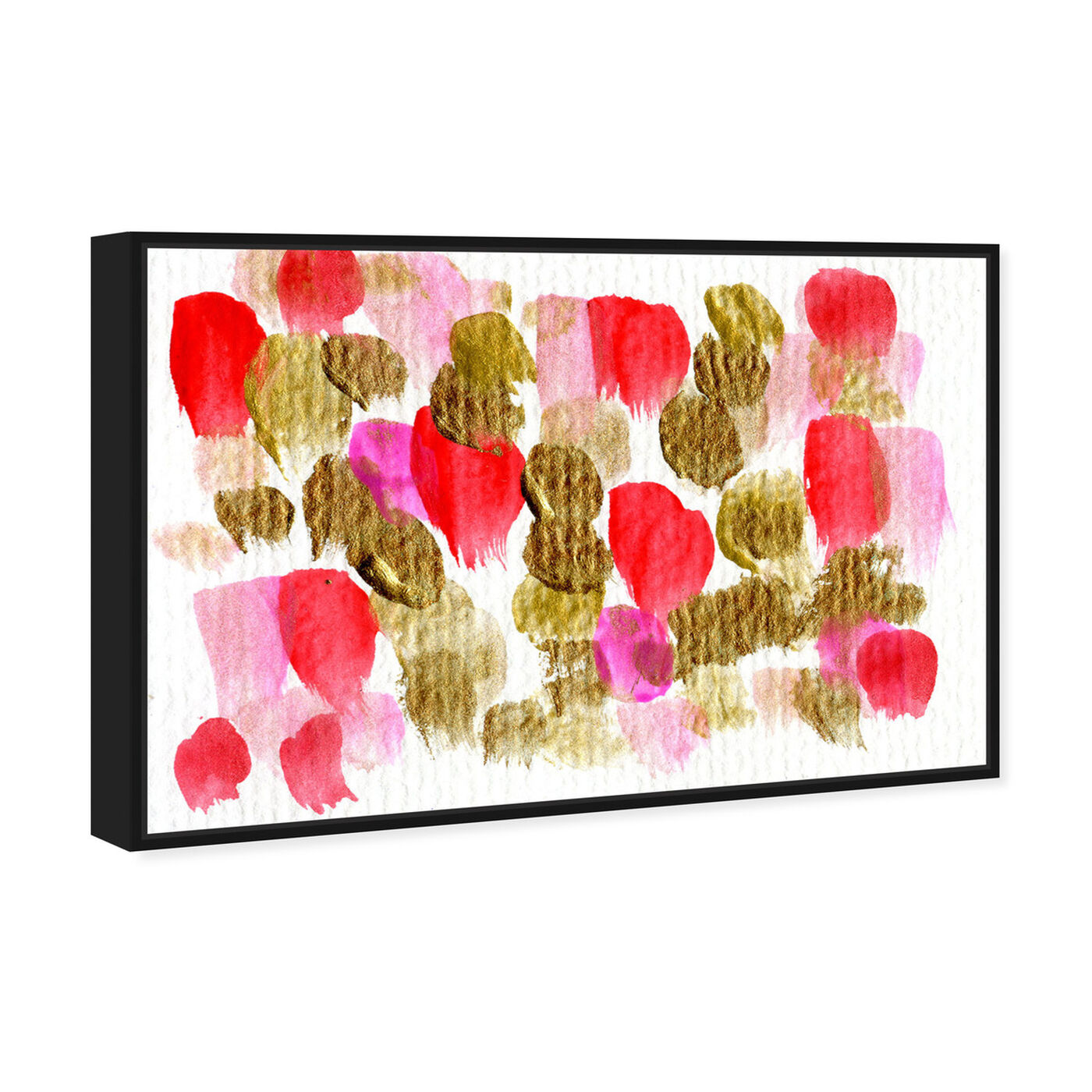 Angled view of Could Be Love  featuring abstract and paint art.