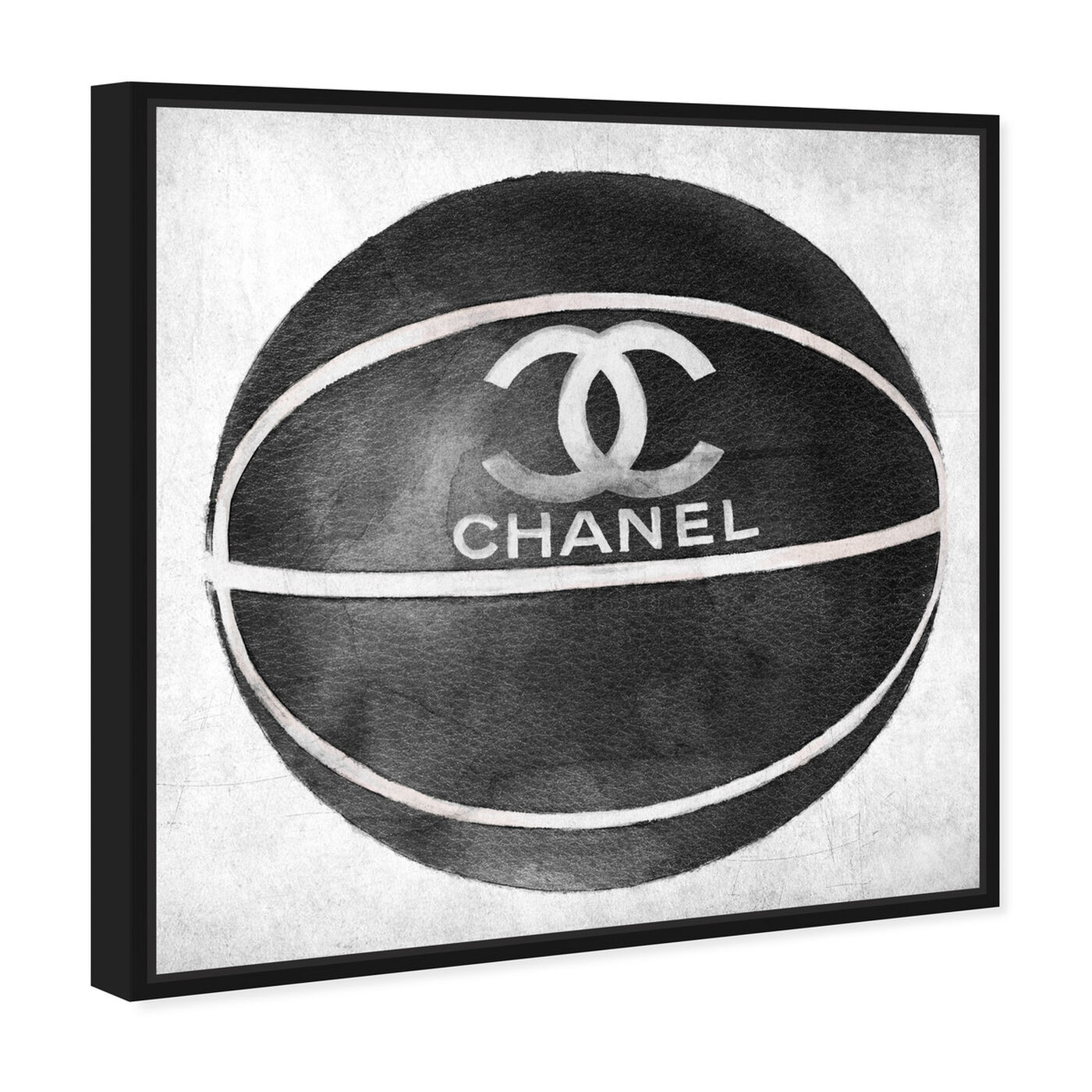 Angled view of Fashion Basketball featuring fashion and glam and lifestyle art.