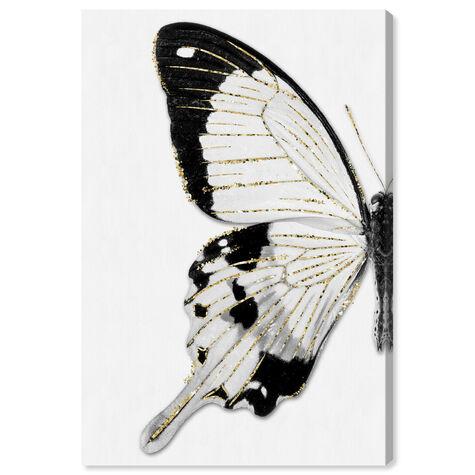 Monochrome Glitter Butterfly II