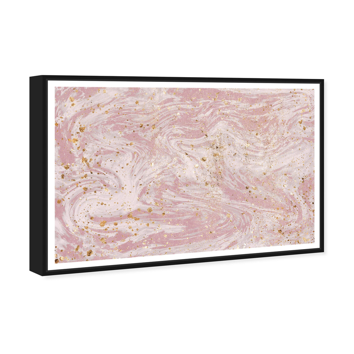 Angled view of Dream Marble featuring abstract and textures art.