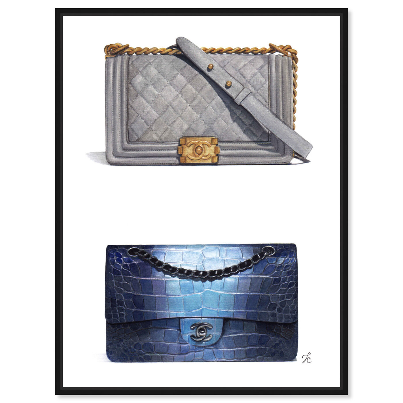 Front view of Doll Memories - Course of Style featuring fashion and glam and handbags art.