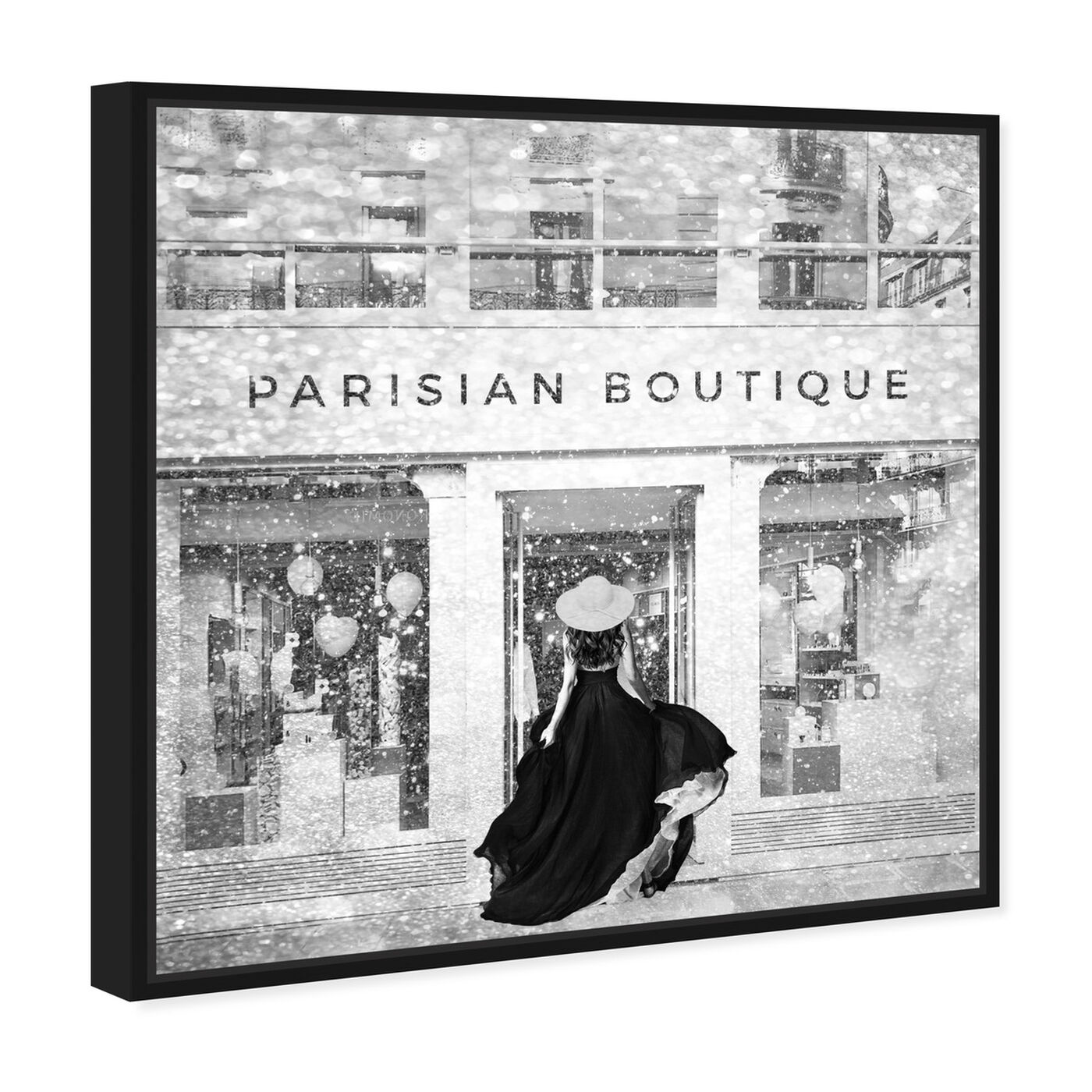 Angled view of Glam Parisian Boutique featuring fashion and glam and lifestyle art.