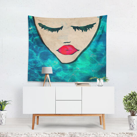 Water Coveted Square Tapestry Art