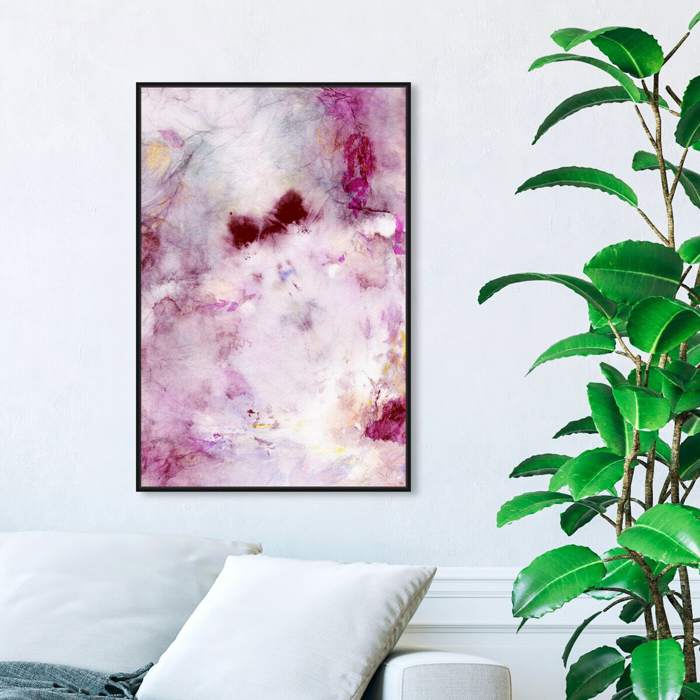 Hanging view of Tie Dye Beauty featuring abstract and textures art.
