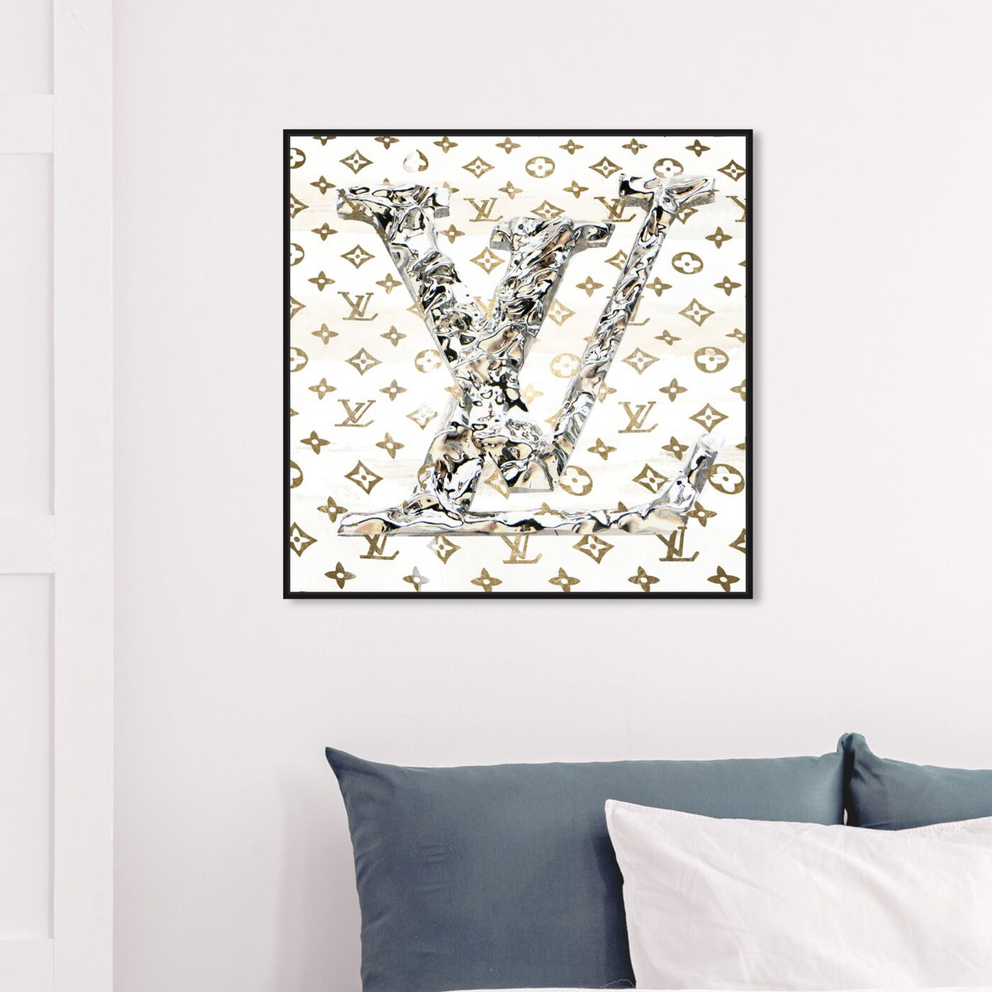 Hanging view of Paris Statement featuring fashion and glam and fashion art.