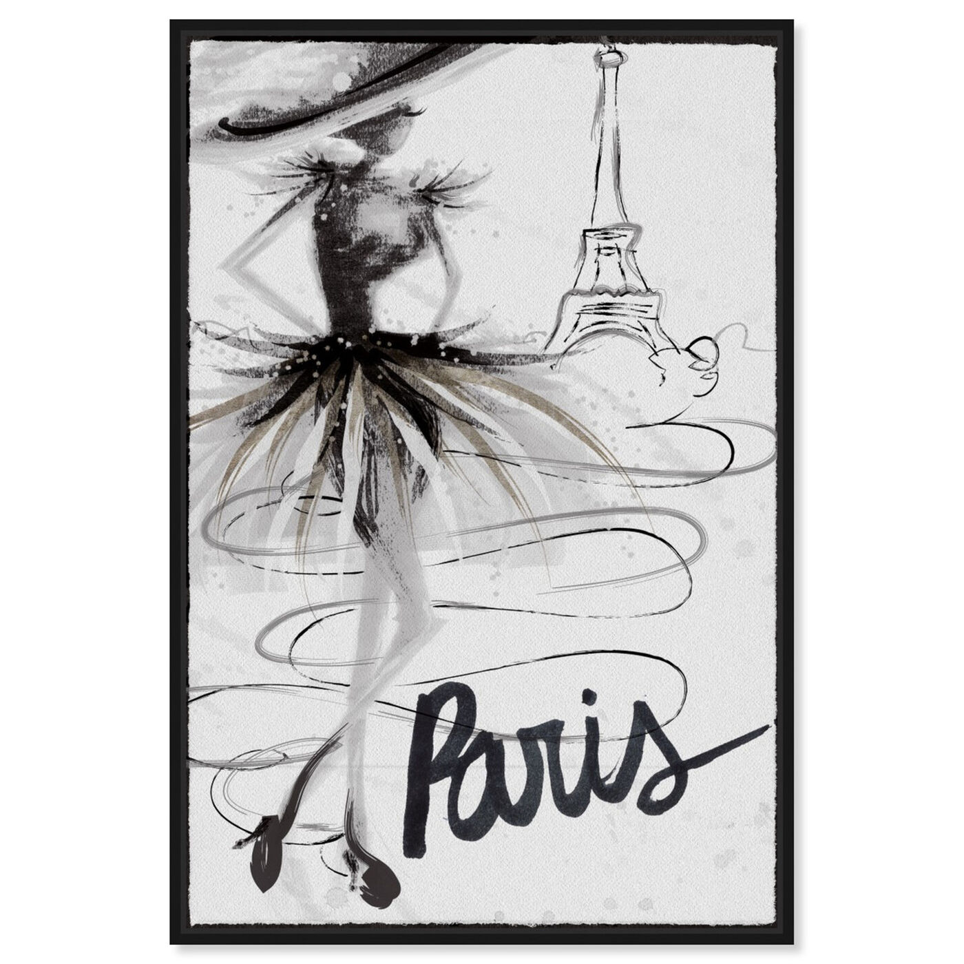 Front view of Fashion Doll Paris featuring fashion and glam and sketches art.