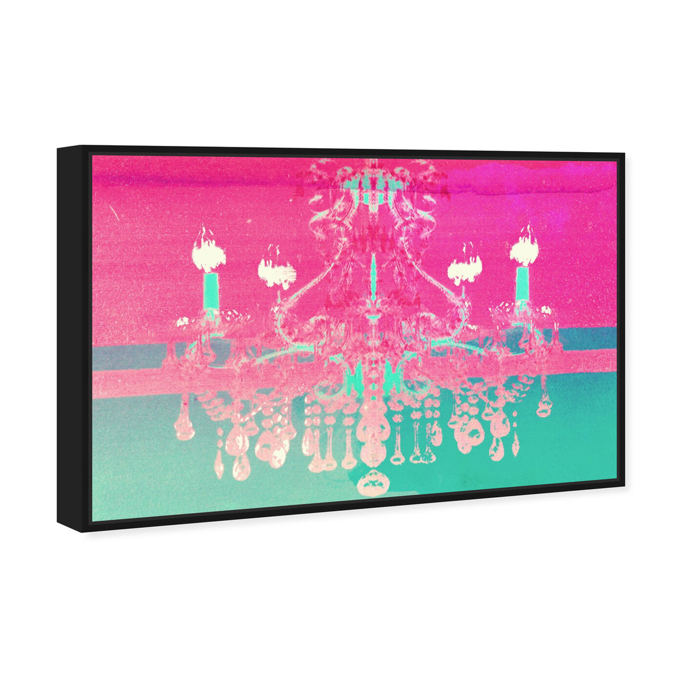 Angled view of Adagio for Strings featuring fashion and glam and chandeliers art.