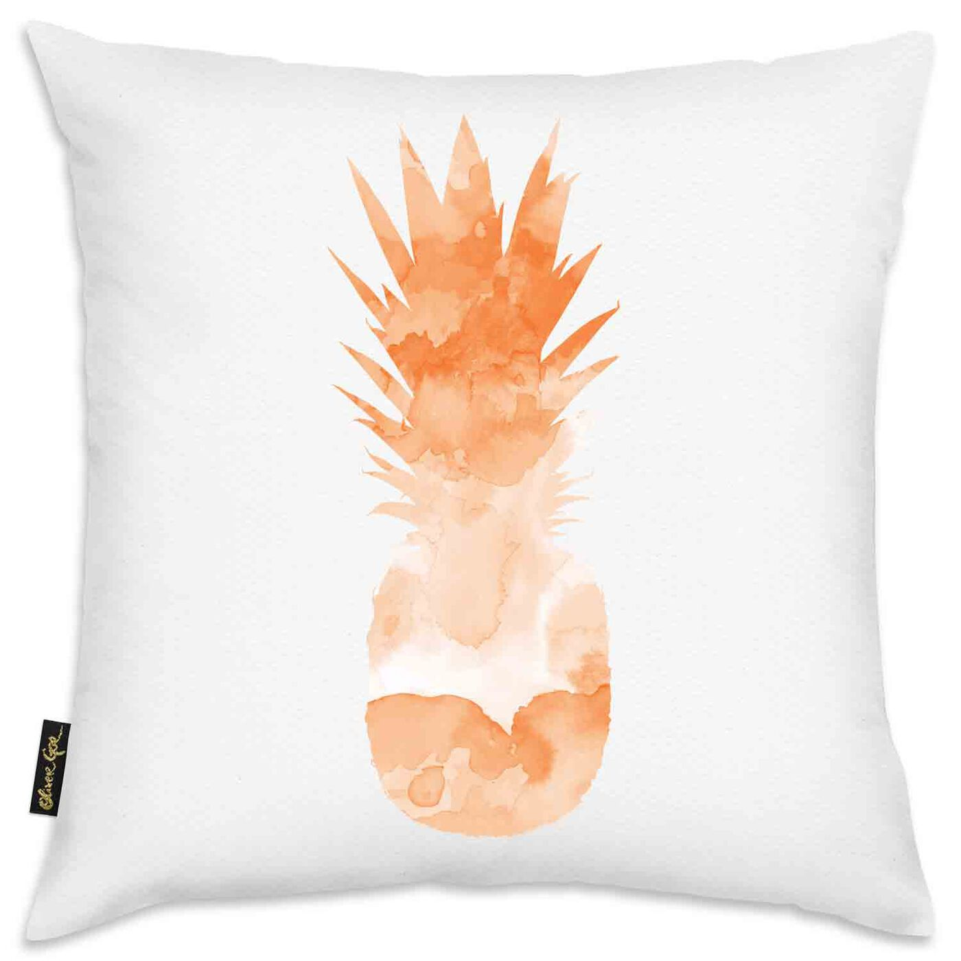 Cocktail Pineapple Pillow