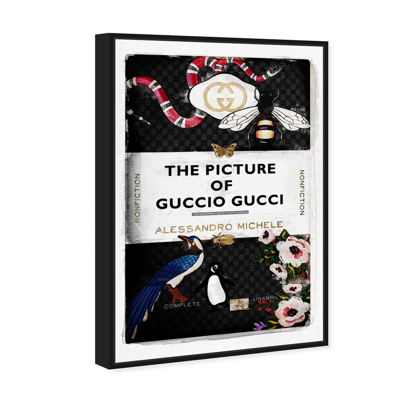 Angled view of The Italian Luxe Book featuring fashion and glam and books art.