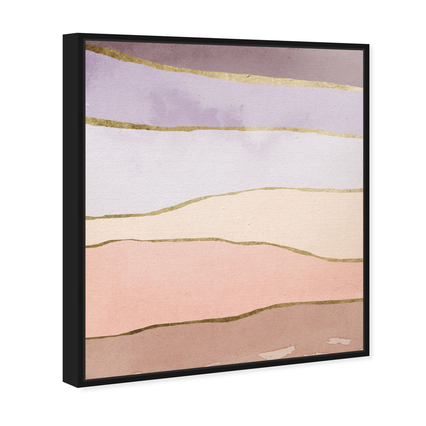 Angled view of Light Layers featuring abstract and watercolor art.
