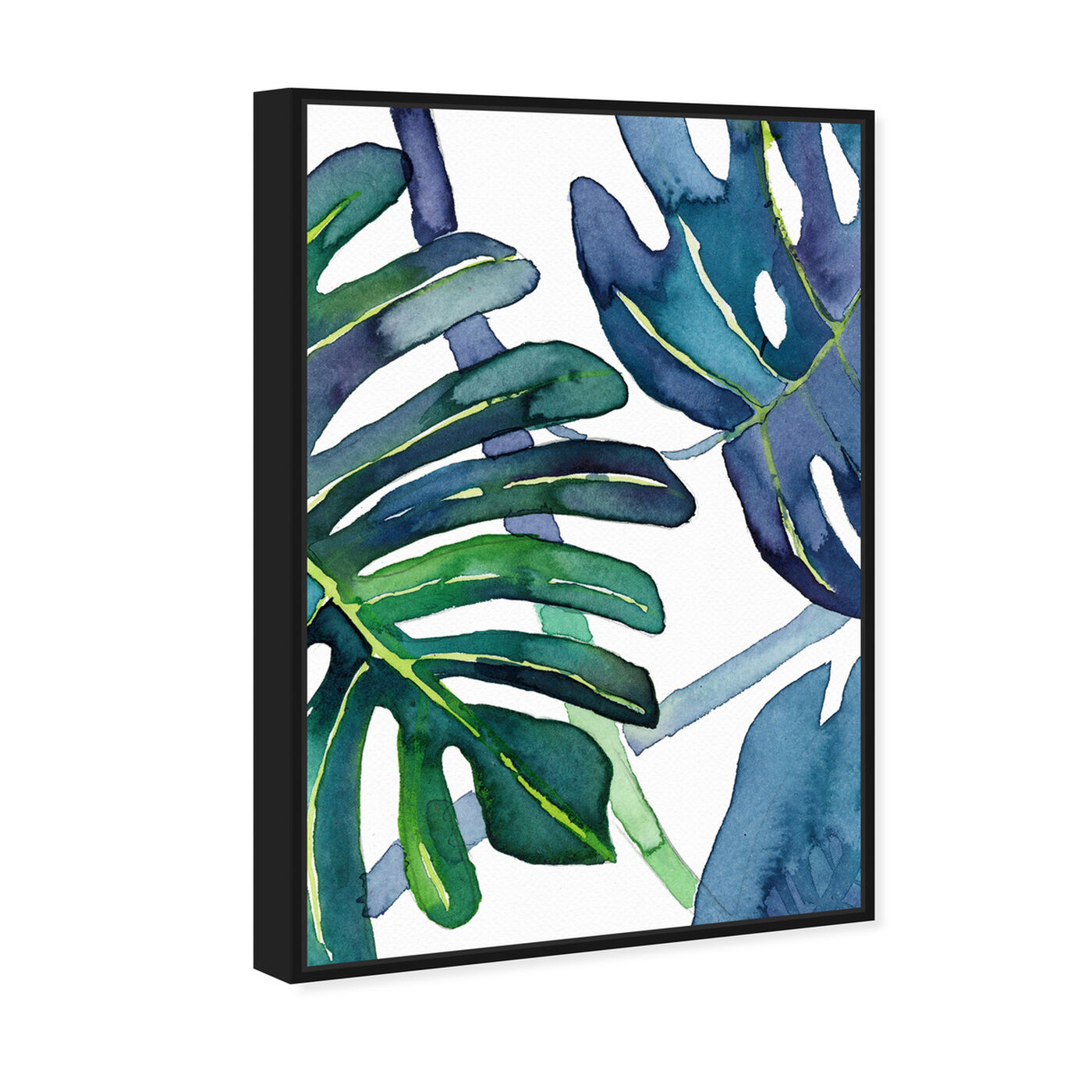 Angled view of Ferns featuring floral and botanical and botanicals art.