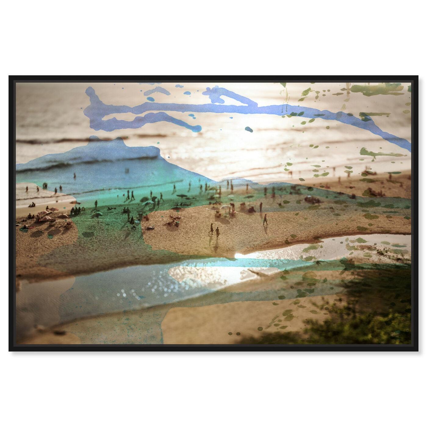 Front view of Tunitas Beach featuring nautical and coastal and coastal art.