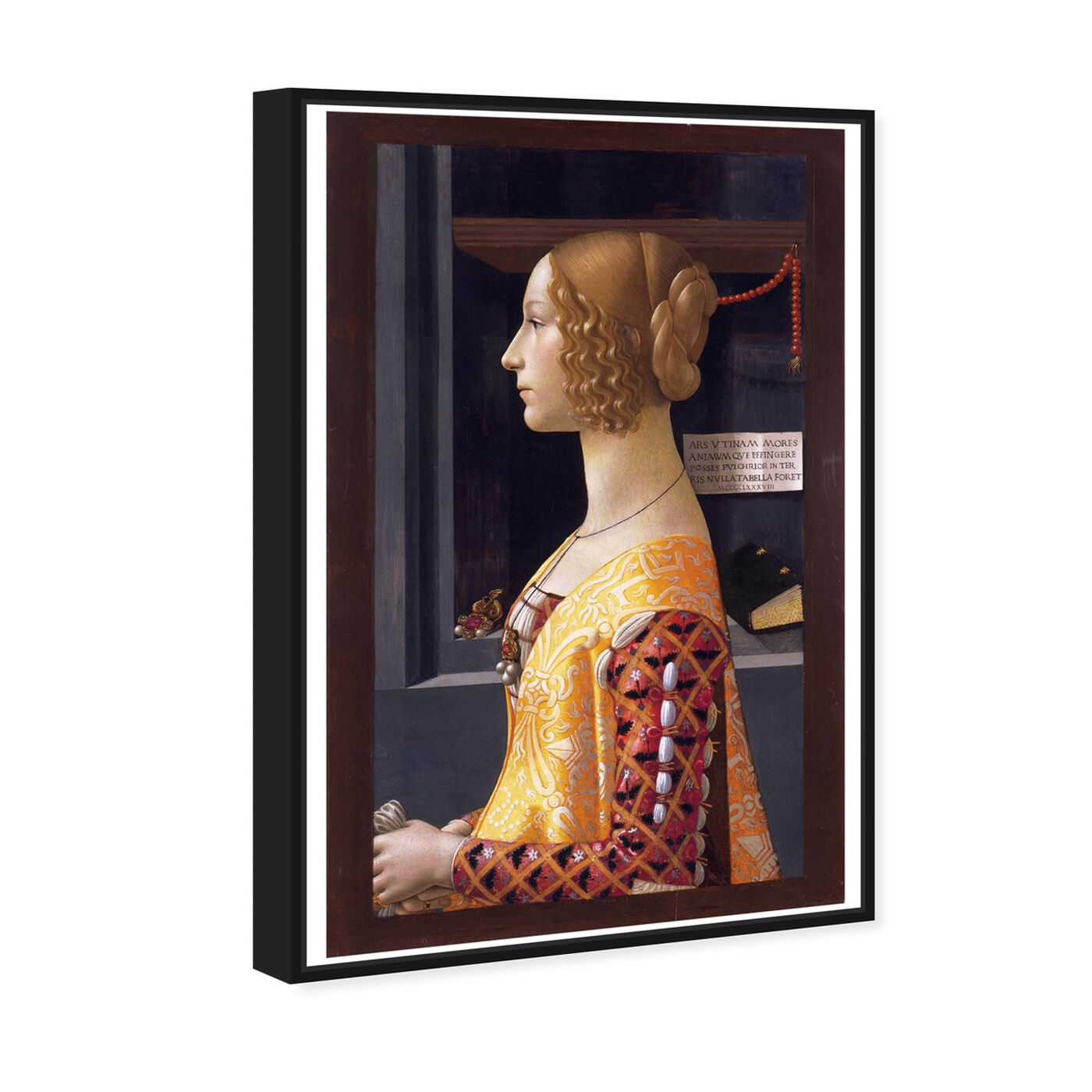 Angled view of Ghirlandaio - Giovanna Tornabuoni featuring classic and figurative and renaissance art.
