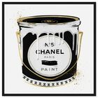 Front view of Fashion Paint Noir featuring fashion and glam and cans art. image number null