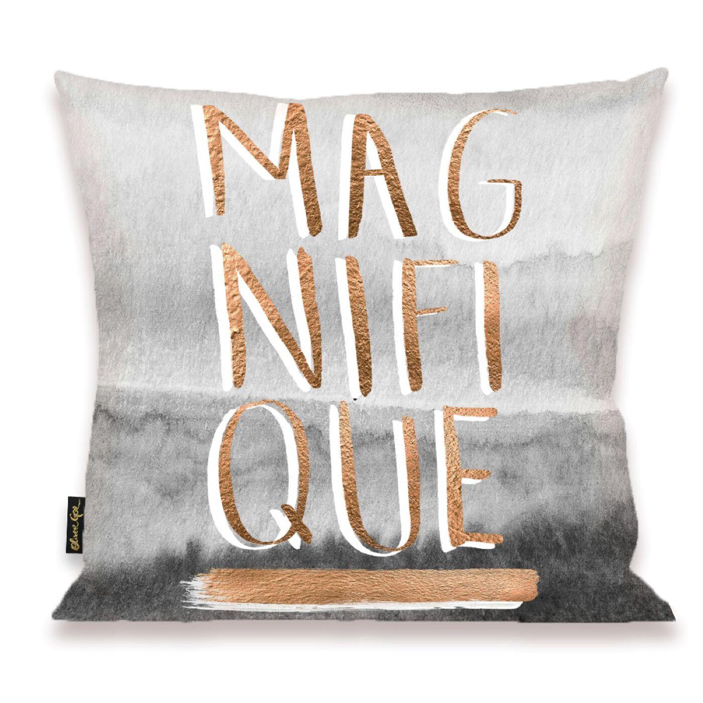 Magnifique Rose Pillow