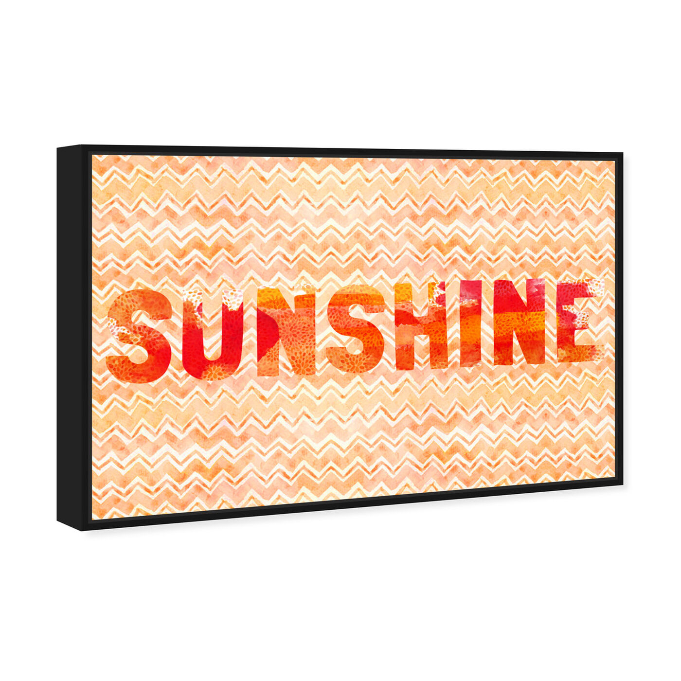 Angled view of Sunshine featuring typography and quotes and beauty quotes and sayings art.