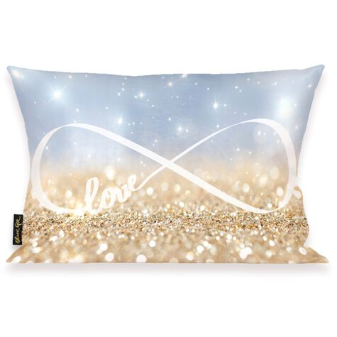 Infinite Love Sign Pillow