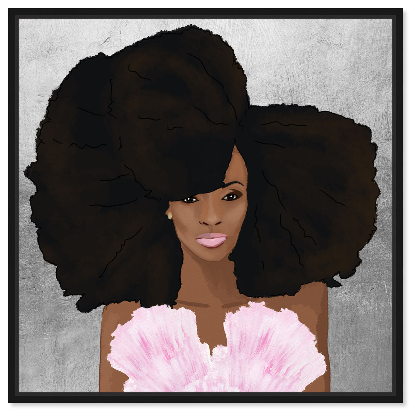 Front view of Hair and Makeup featuring fashion and glam and portraits art.