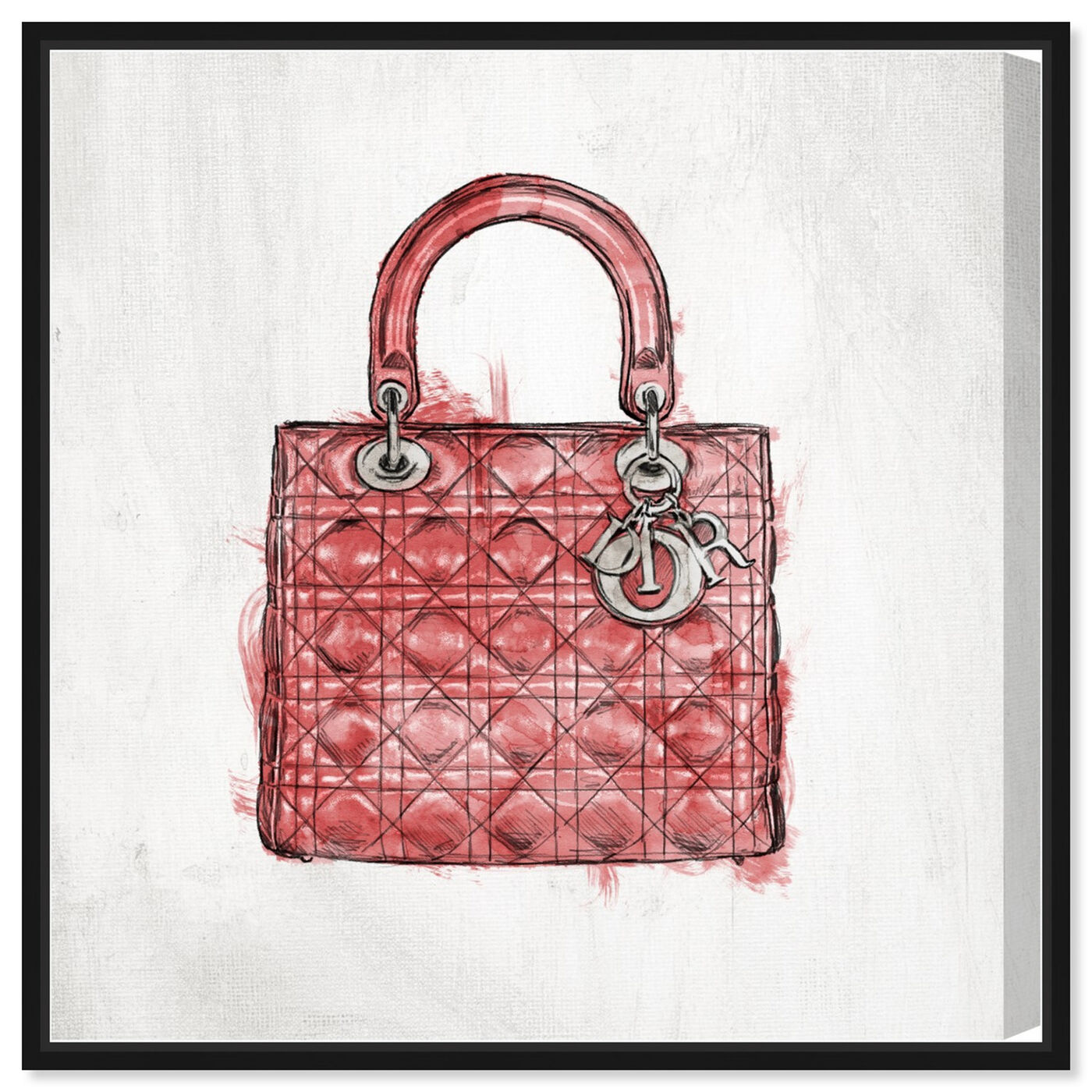 Front view of Christian's Essentials Red featuring fashion and glam and handbags art.