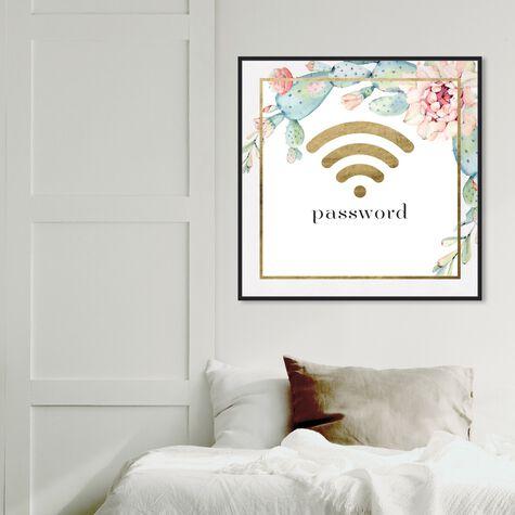 Succulent Gold Wifi