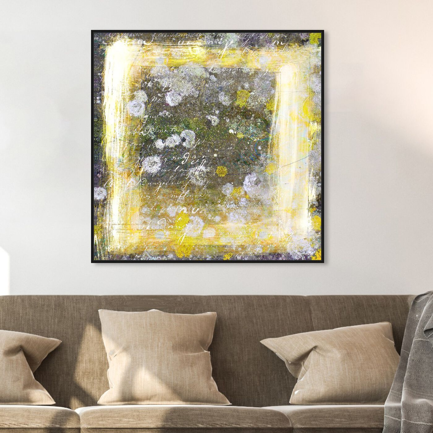 Hanging view of La Jolla featuring abstract and paint art.