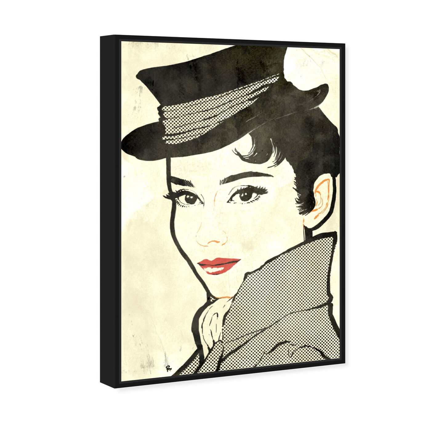 Angled view of Eliza featuring fashion and glam and portraits art.