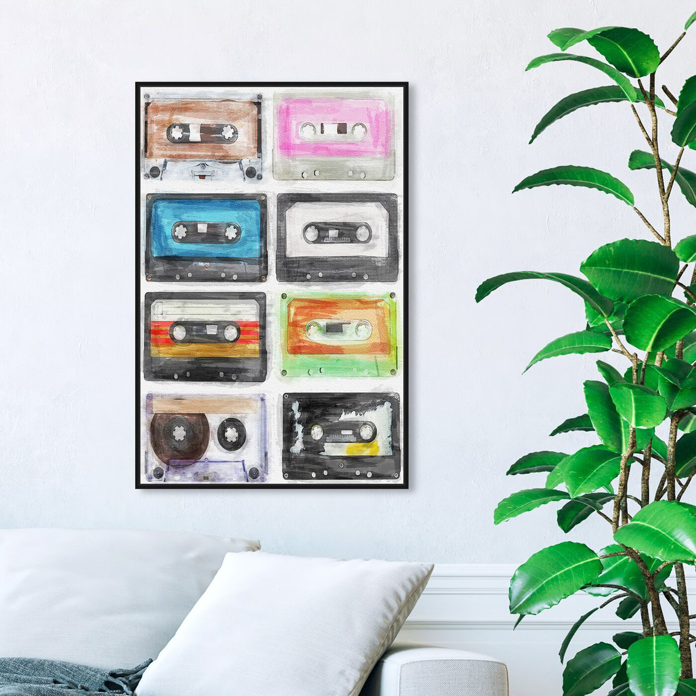 Hanging view of My Music Collection featuring music and dance and dj art.