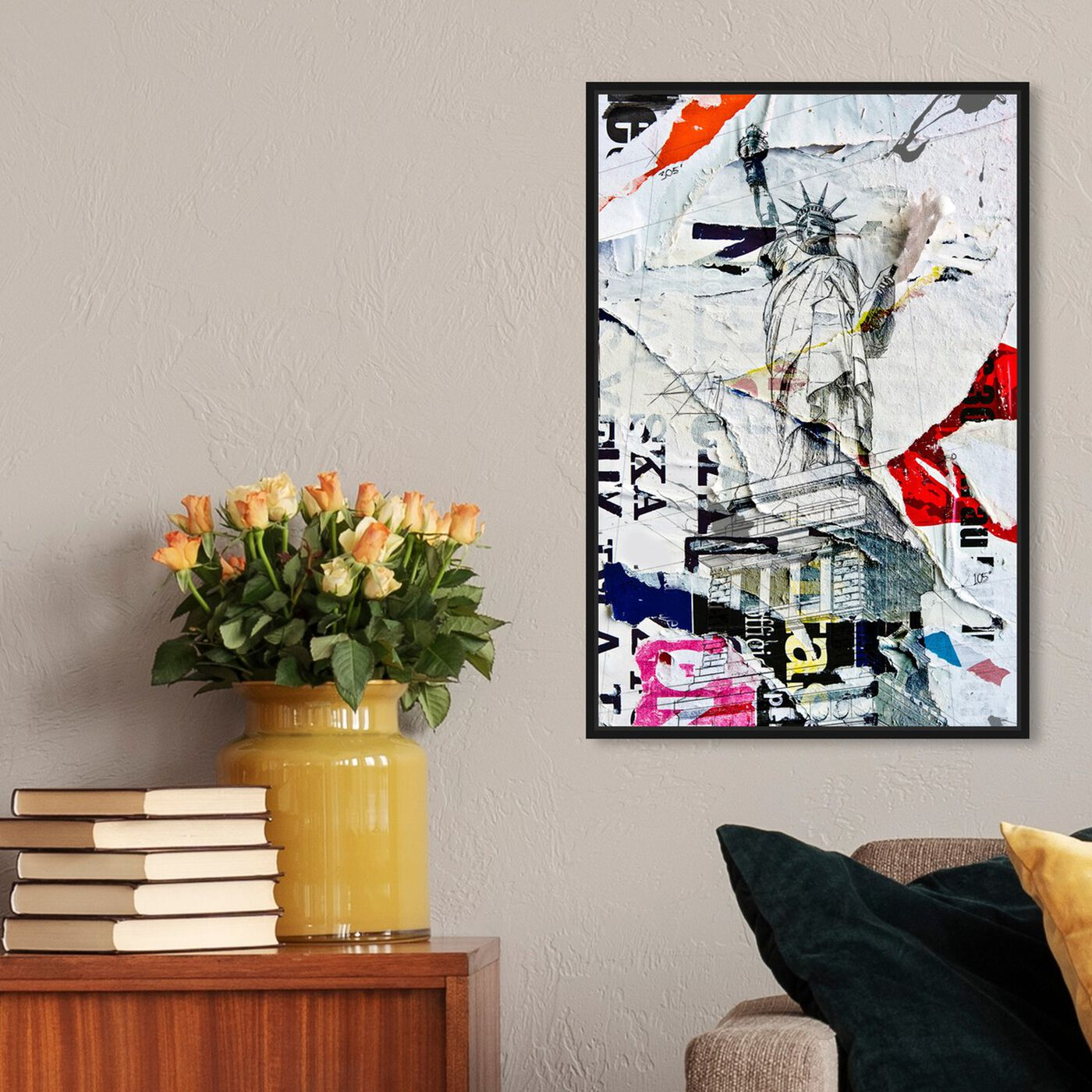 Hanging view of Liberty featuring architecture and buildings and united states buildings art.
