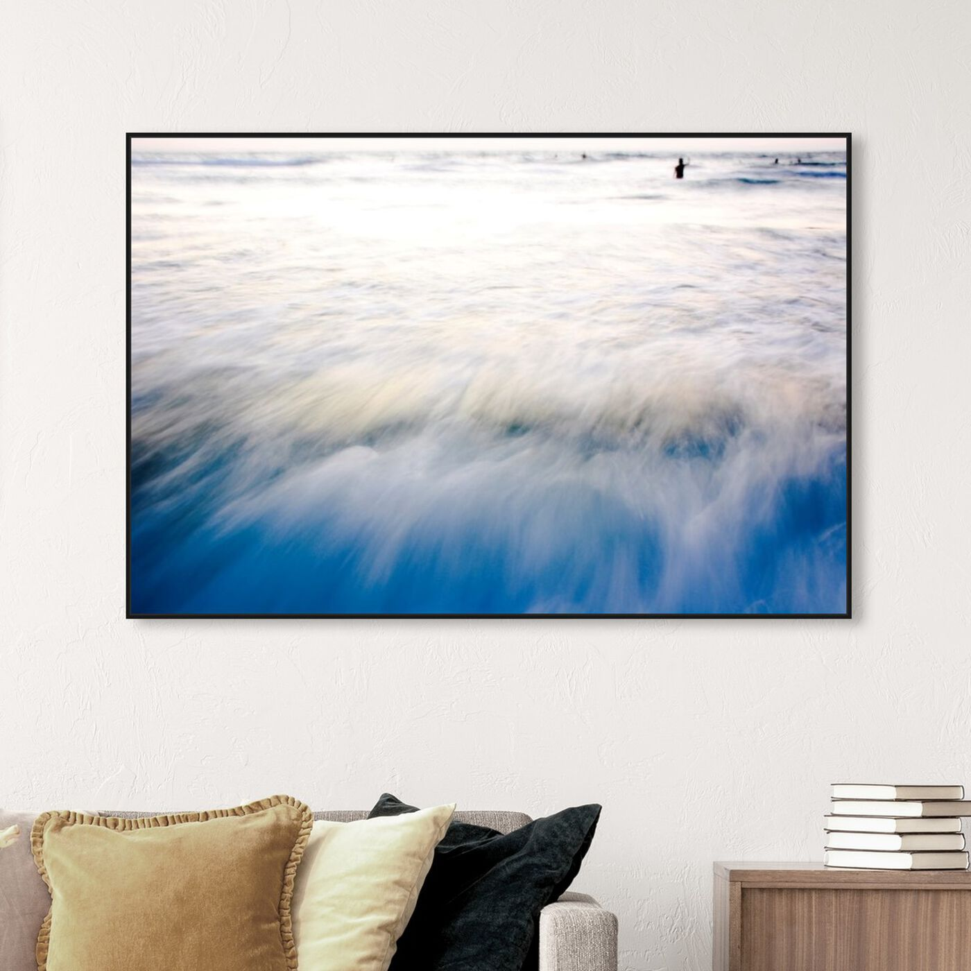 Hanging view of Untitled II featuring nautical and coastal and coastal art.