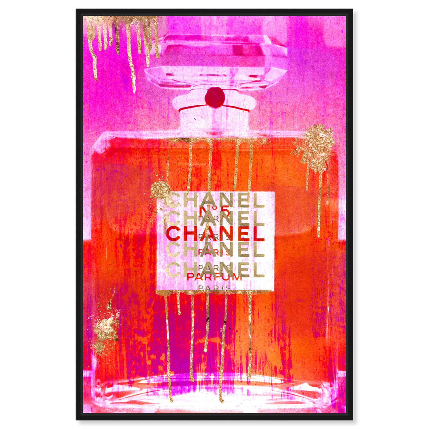 Front view of Enchanting Scent featuring fashion and glam and perfumes art.