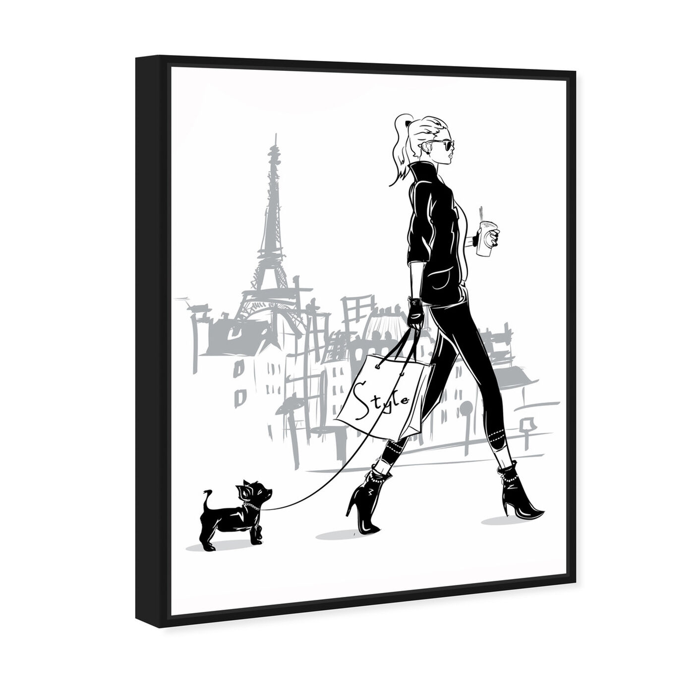 Angled view of Doll Memories -  City walk featuring fashion and glam and outfits art.