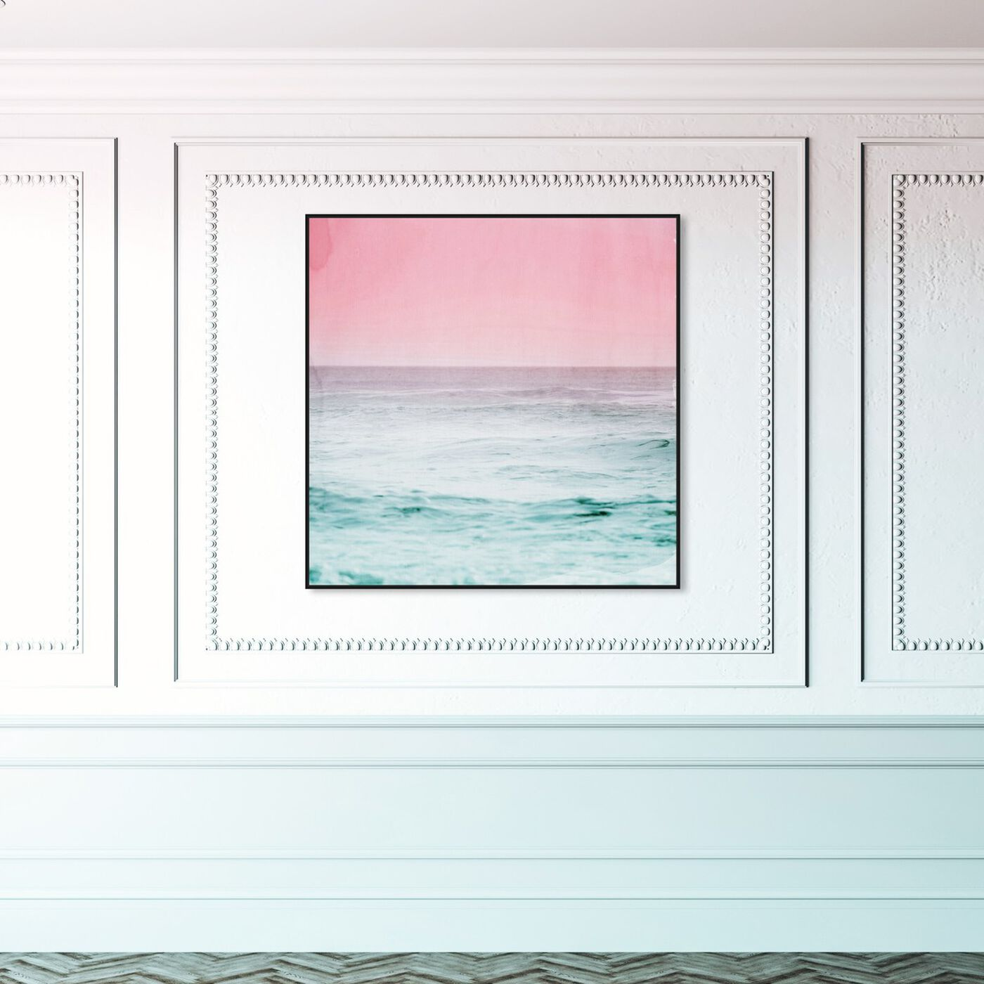 Hanging view of Dream Ocean View featuring nautical and coastal and coastal art.