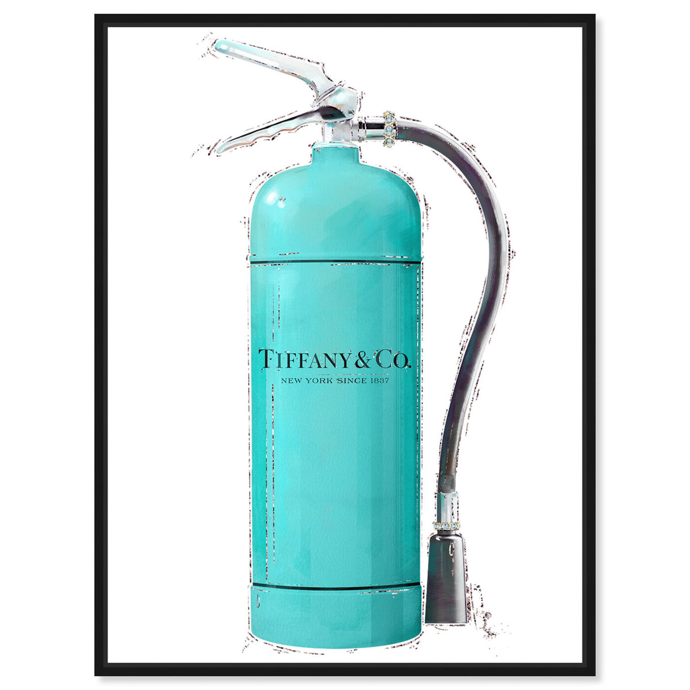 Front view of Acqua Extinguisher featuring fashion and glam and lifestyle art.