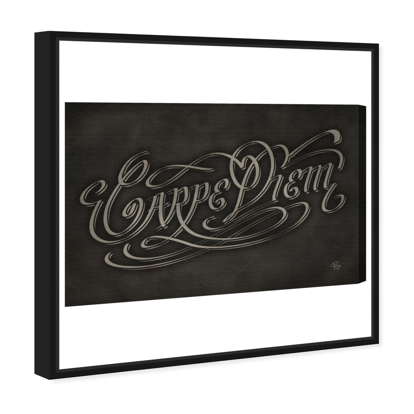 Angled view of The Motto featuring typography and quotes and motivational quotes and sayings art.