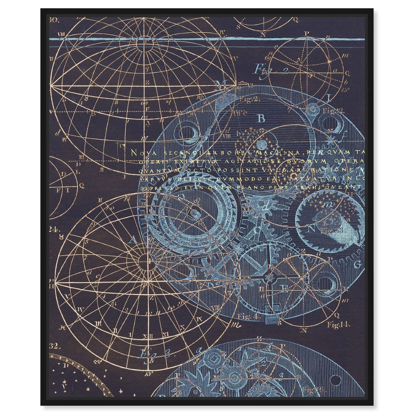 Front view of Bores Sky featuring astronomy and space and solar system art.