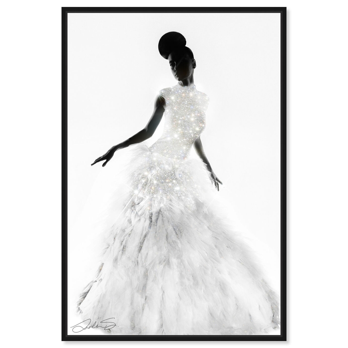 Front view of Dress Like Who You Truly Are featuring fashion and glam and dress art.