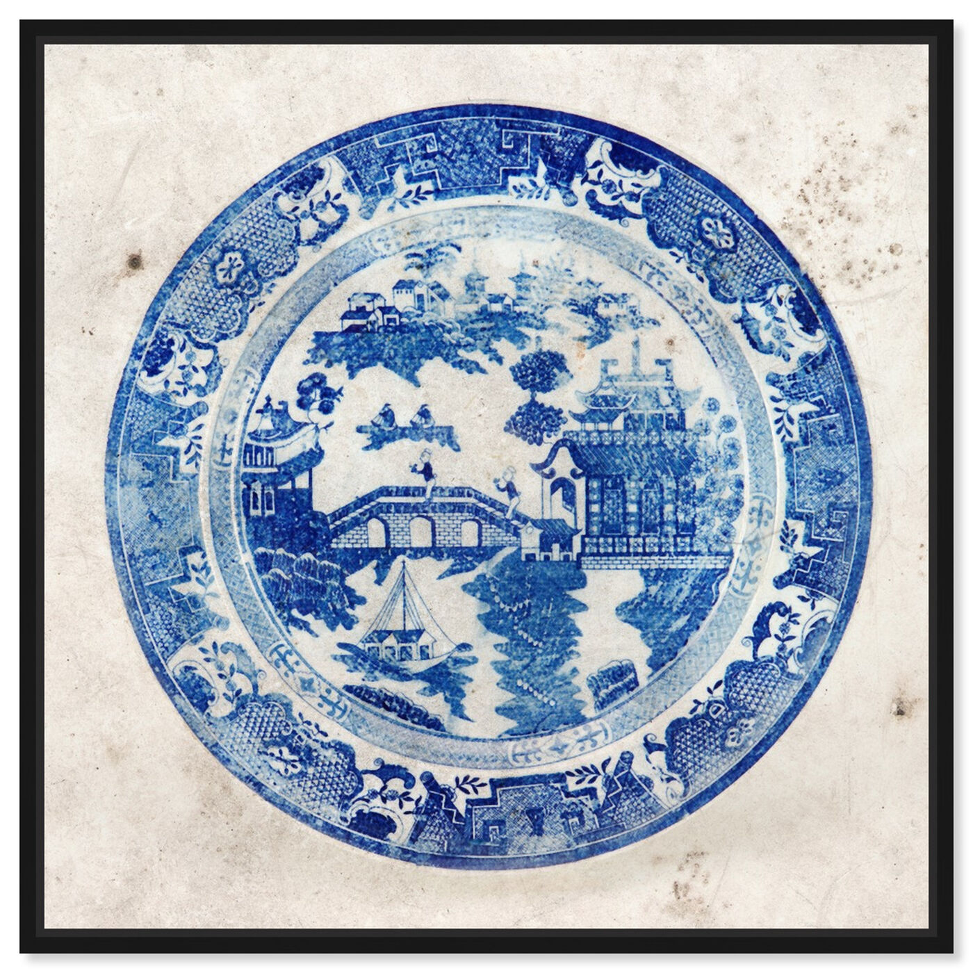Front view of Fajans China featuring world and countries and asian cultures art.