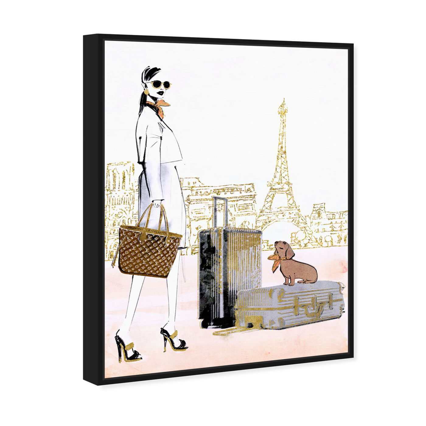 Angled view of Globetrotter Companion featuring fashion and glam and lifestyle art.