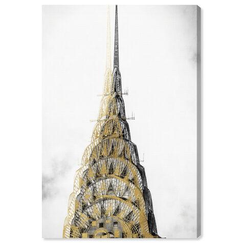 Golden Building Top
