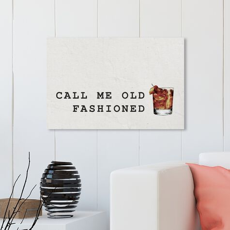 Mr Old Fashioned