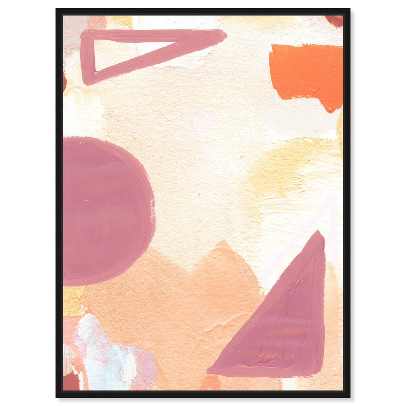 Front view of Surreal Poetic featuring abstract and geometric art.