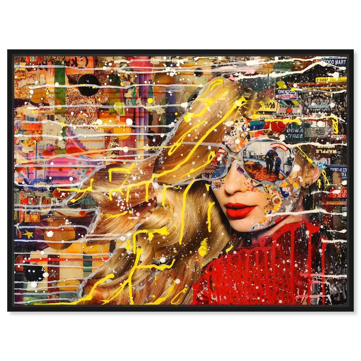 Front view of Katy Hirschfeld - Better Off featuring fashion and glam and portraits art.