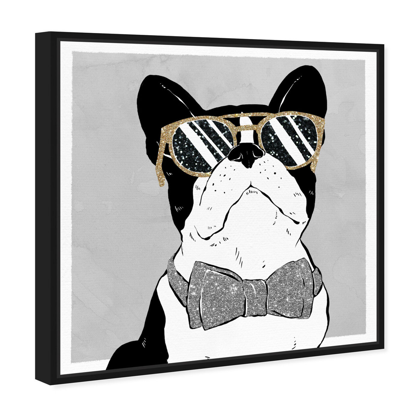 Angled view of Stylish Pup featuring fashion and glam and accessories art.