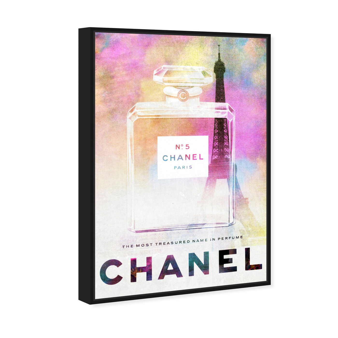 Angled view of Parisian Treasure  featuring fashion and glam and perfumes art.
