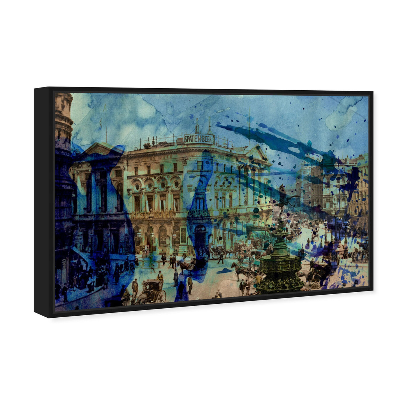 Angled view of Picadilly featuring world and countries and european cultures art.