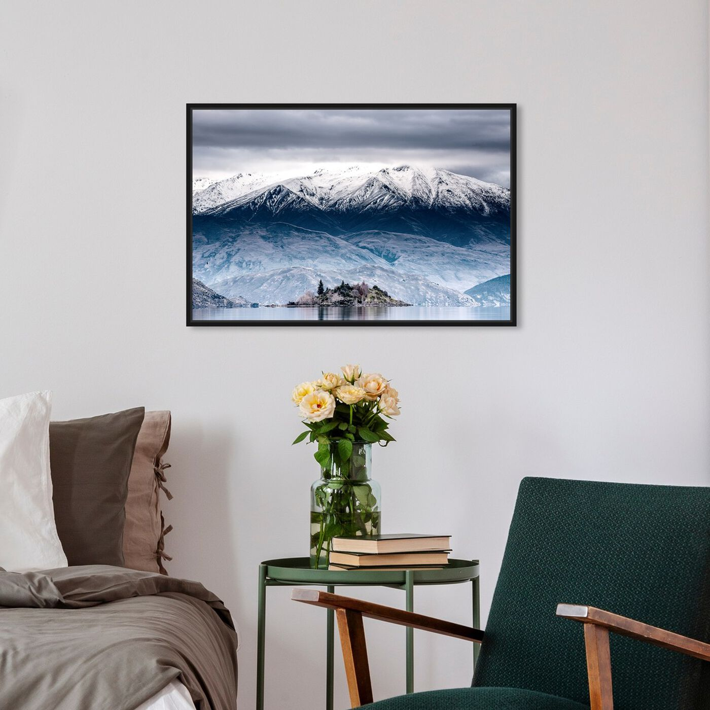 Hanging view of Curro Cardenal - Almaren featuring nature and landscape and mountains art.