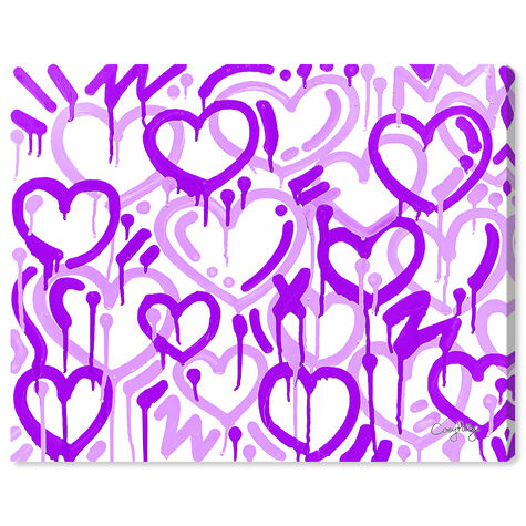 Corey Paige - Purple & White Electric Love