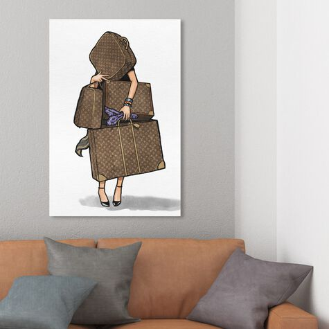 Bags, Bags, Bags- Purple