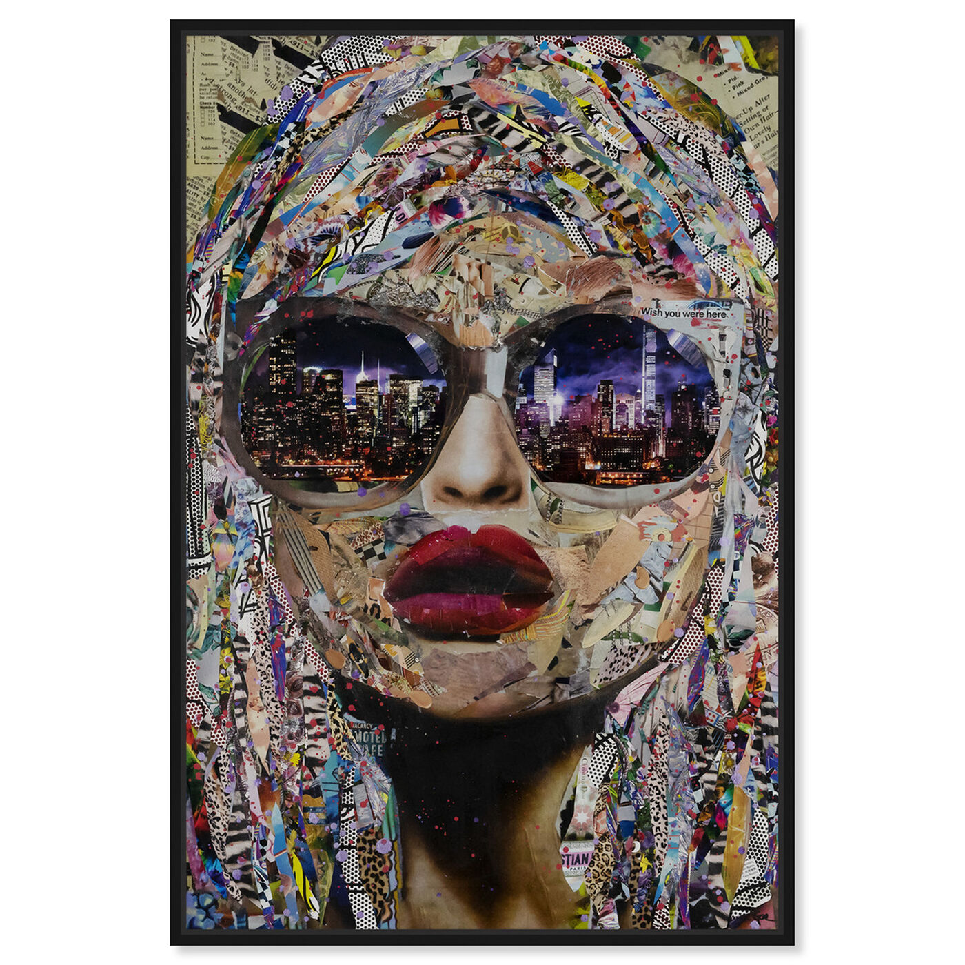 Front view of Katy Hirschfeld - Timing is Now featuring fashion and glam and portraits art.