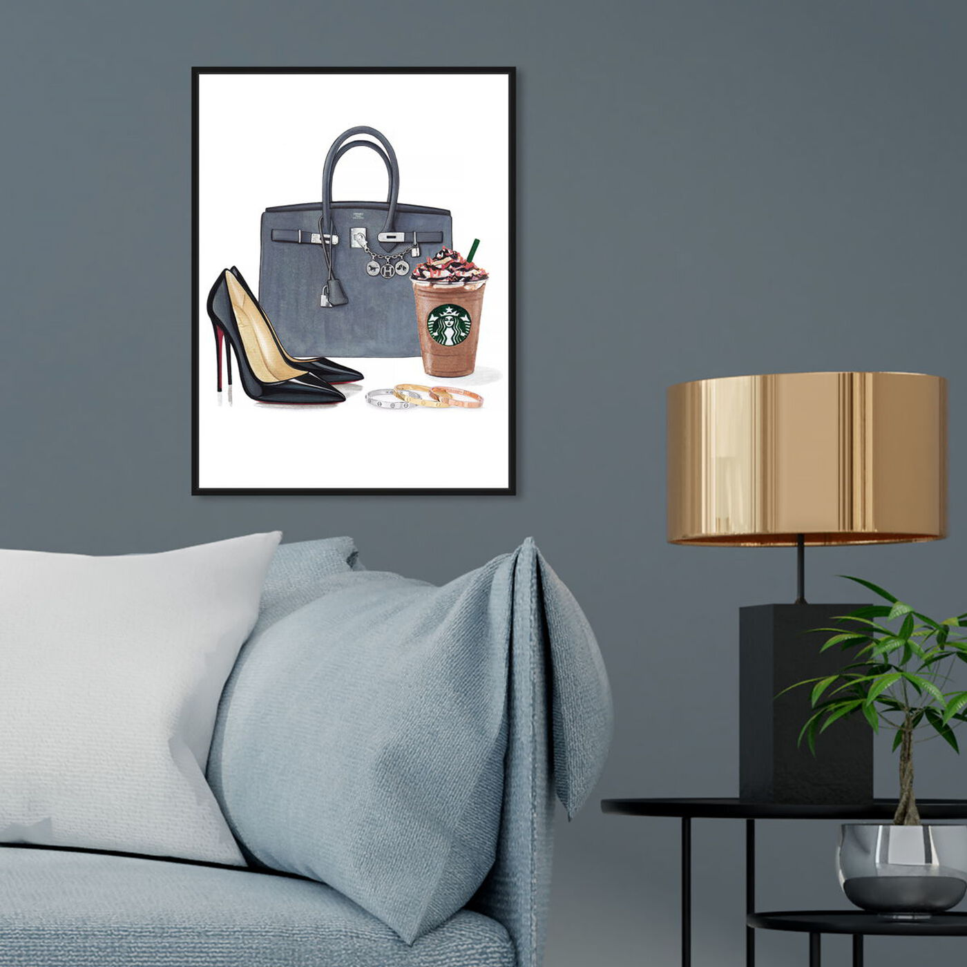 Hanging view of Doll Memories -Morning Essentials featuring fashion and glam and essentials art.